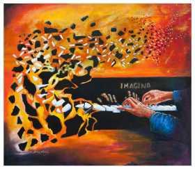 Juan Carlos Diaz - Imagine that you are human