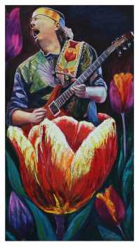 Luis Obando - Santana, concert in tulips